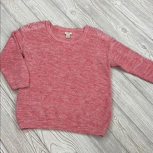J. Crew pink marled sweater - XXS